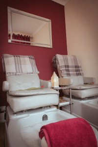 Double pedicure area Clevedon